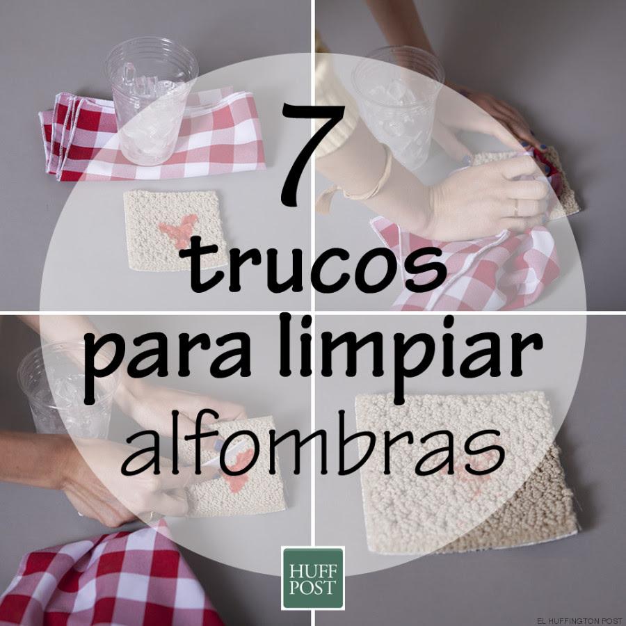 Cómo limpiar alfombras: siete trucos que funcionan (o no ...