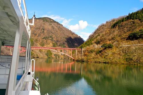 小さな船の旅(庄川峡)