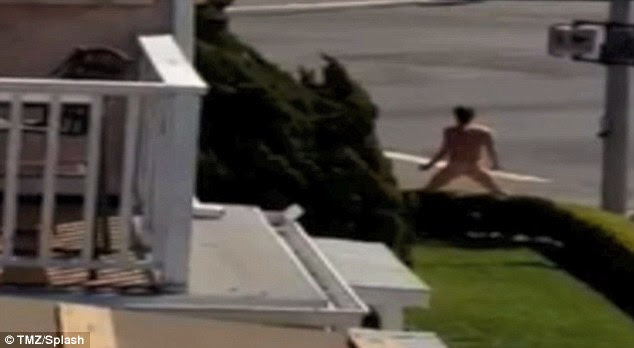 Naked meltdown: Kony 2012 video director Jason Russell caught acting strangely on the Streets on San Diego
