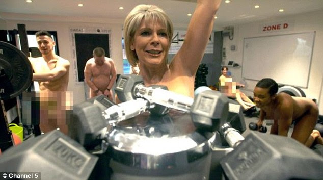 Ruth Langsford, 57, strips completely naked in her new Channel 5 showin Do The Right Thing