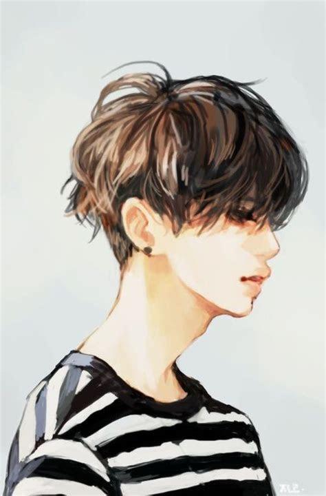 kpop anime style  cute image anime manga boy