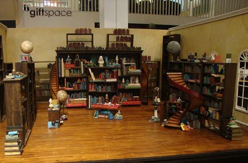 The Fantastic Flying Books of Mr. Morris Lessmore at Artspace Shreveport by trudeau