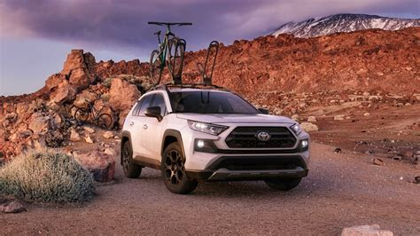 toyota rav gains trd  road model motortrend