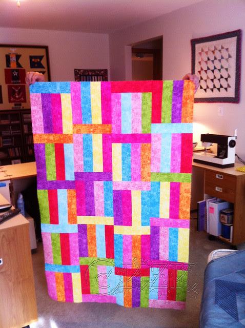 IMG_4056 Fruit Stripe Gum quilt