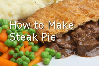 Steak pie recipes.
