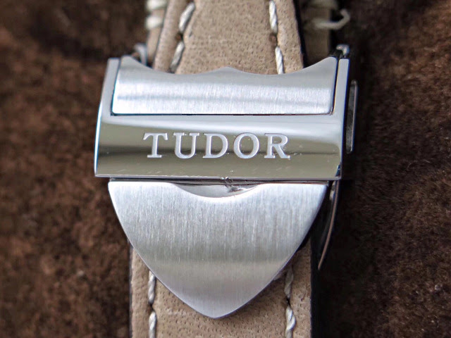 TUDOR Engraving on Shield Buckle