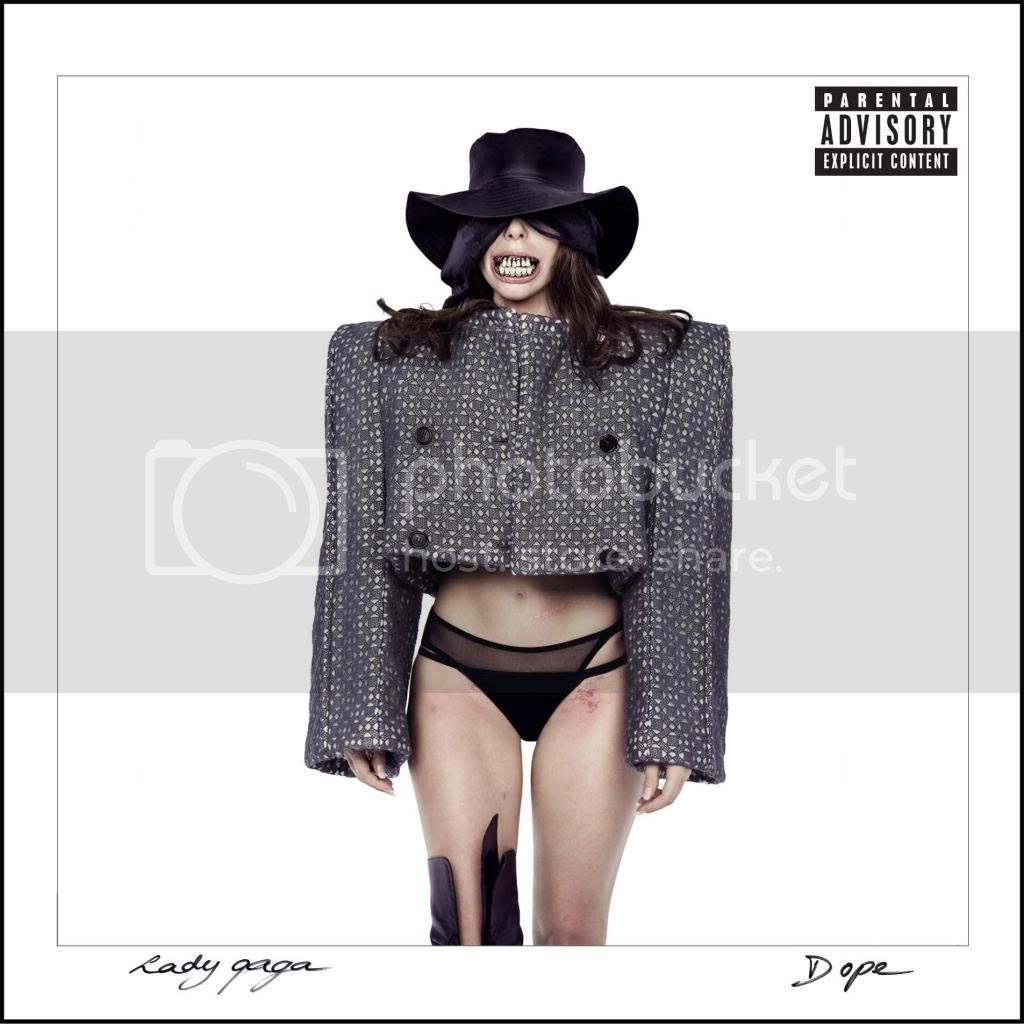 Lady Gaga unveils Halloween-inspired artwork for promo single 'Dope'...