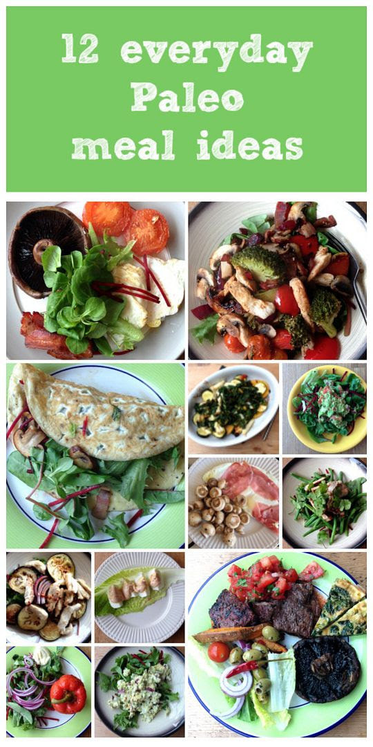 12 Everyday Paleo Meal Ideas