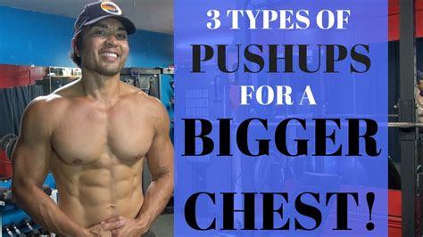types  pushups   bigger chest youtube