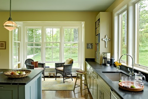 Farmhouse Reinterpreted contemporary kitchen