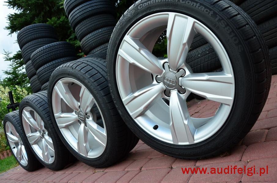 Oryginał Audi A4 B8 8k0 Allroad 18 Et26 Audifelgipl