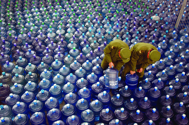 World Water Crisis  book Blue Planet Run safe drinking water to the one billion people who lack it