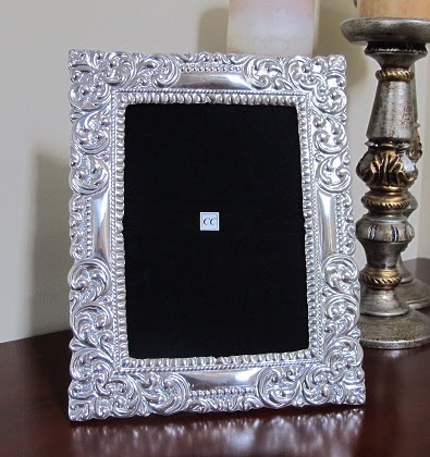 Sterling Silver Picture Frame Santa Rosa 5x7 Sofias Findings