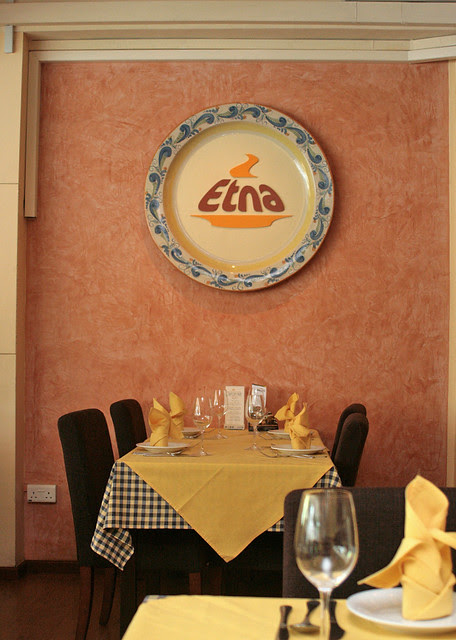 Etna is a simple Sicilian eatery along Upper East Coast Road