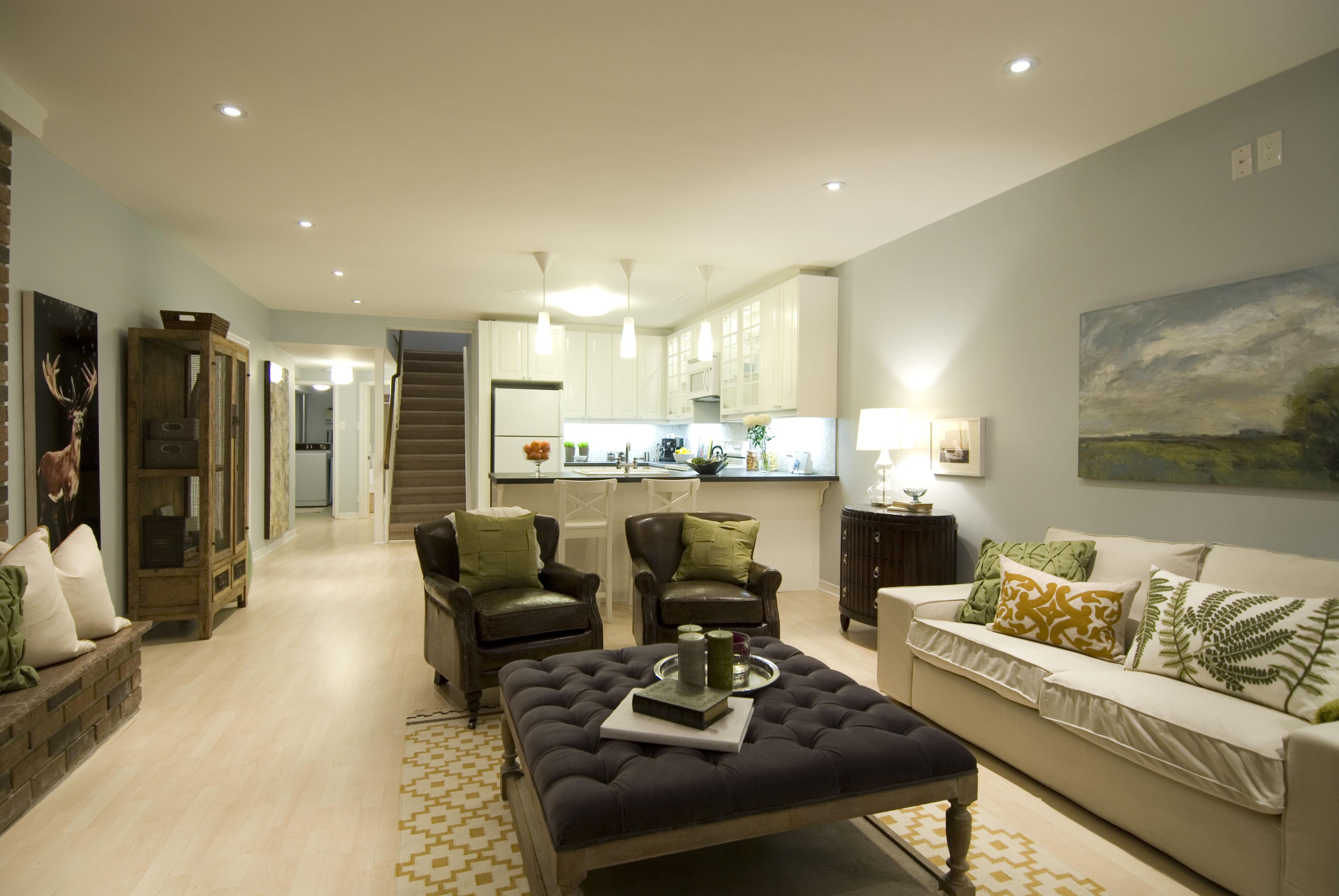 Home Architec Ideas Studio Apartment Apartment Small Open Plan Kitchen Living Room Ideas