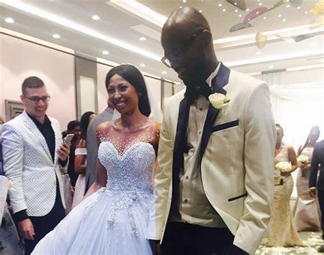 PHOTOS   VIDEOS: Black Coffee & Mbali wedding     YoMZansi