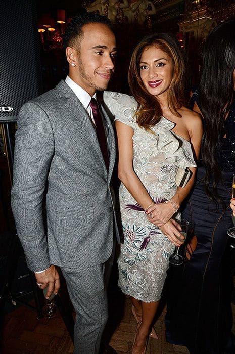 Nicole Scherzinger and Lewis Hamilton spark rumours of ...
