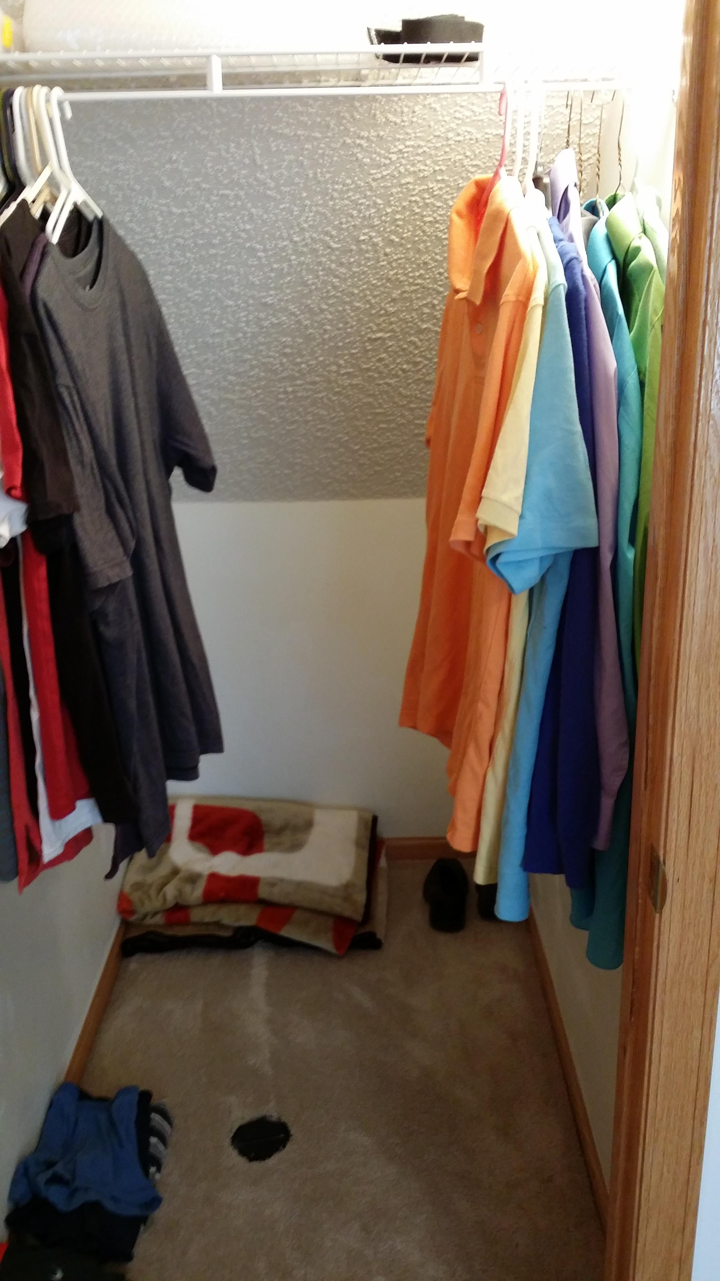 Was thinking of possibly putting a dresser in my closet. Any ideas