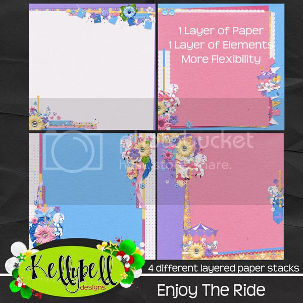 Kellybell Designs Enjoy the Ride Paper Stacks