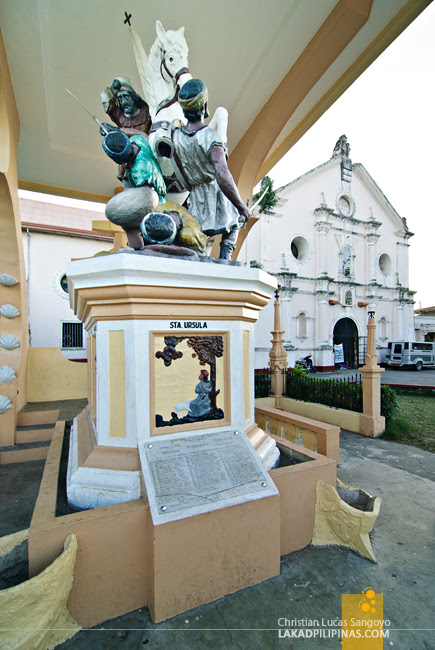 St. James Statue at Betis Church in Guagua, Pampanga