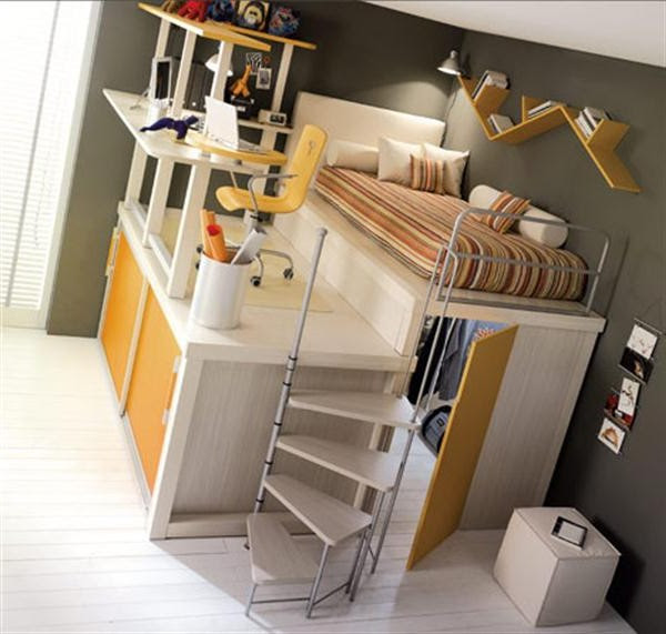 10 Elegant Loft and Bunk Beds Design for Kids and Teenager Cool ...