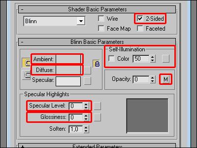 Material basic parameters