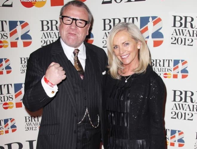 Ray Winstone Brit Awards 2012 Red Carpet