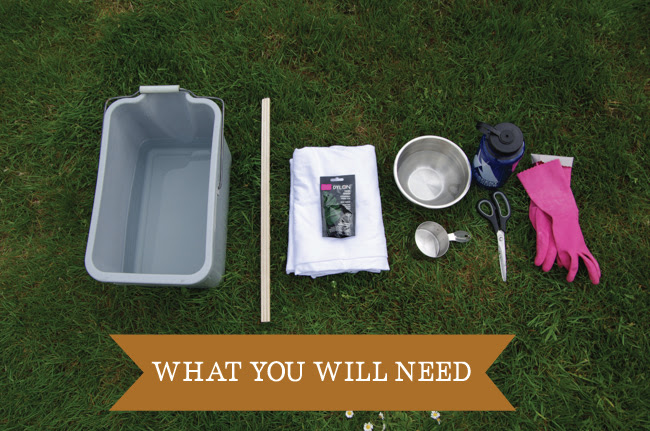Dyeing - what you will need