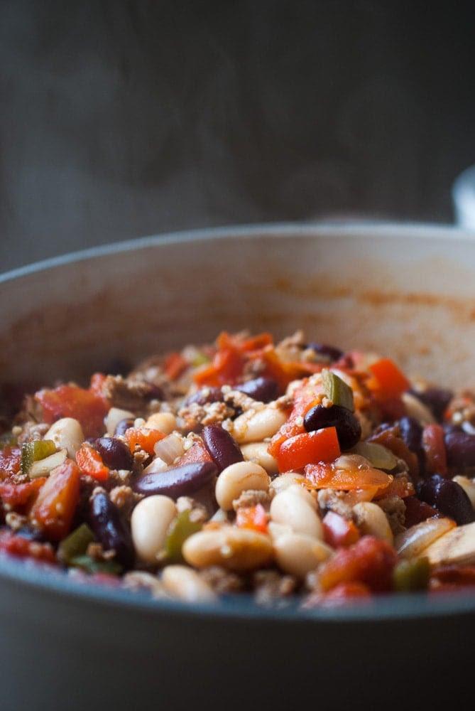 30 Minute Turkey Quinoa Chili | Life is but a Dish