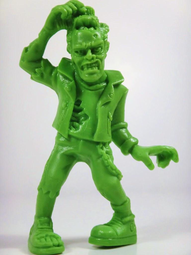 s.l.u.g. zombie gruesome gabe series 4 jakks pacific greaser
