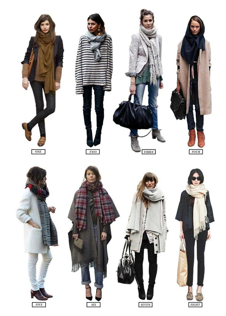 scarf style!