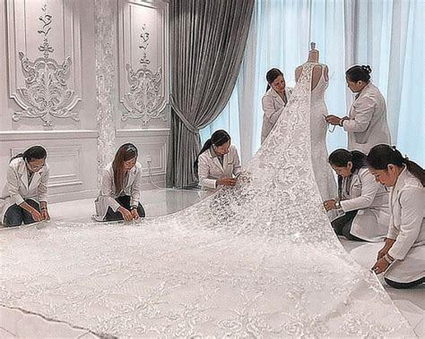 Michael Cinco Designs Most Unique Wedding Dress During His