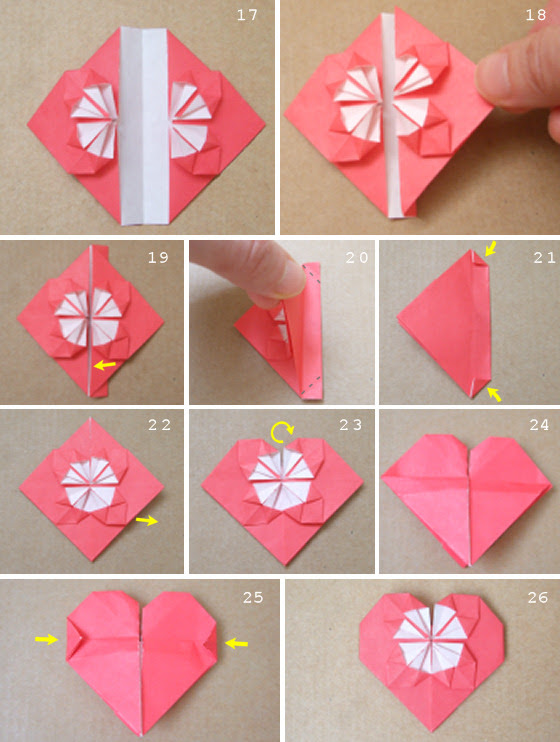 Origami Heart Collections 3