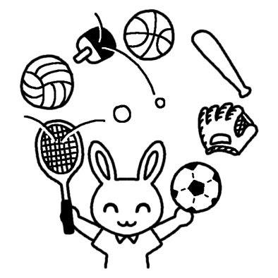 画像 スポーツ イラスト 素材集まとめ Naver まとめ
