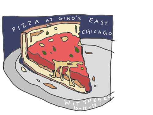 Chicago pizza by douglaswittnebel