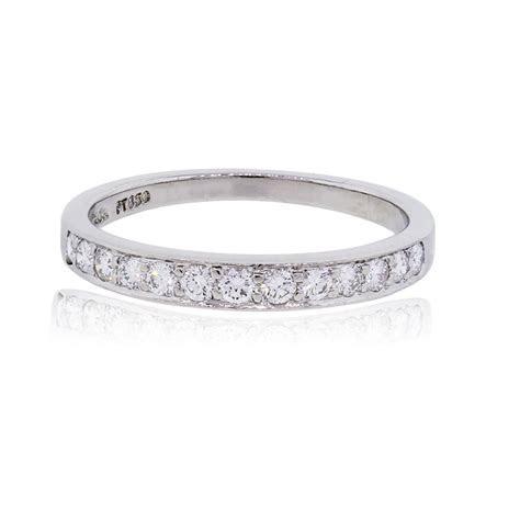 Tiffany & Co. Rings Platinum 0.24ctw Diamond Wedding Band