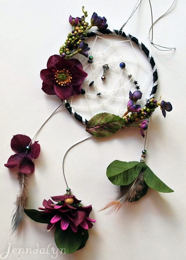 DIY Beautiful and Unique Dream Catcher Ideas (10)