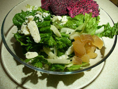 Tonight's salad