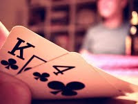 Hole cards in Texas Hold 'Em