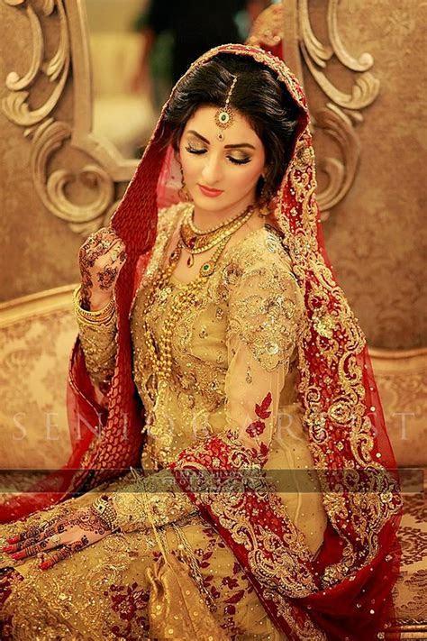 Latest Wedding Barat Dresses Designs Trends 2018 2019