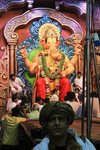 Shooting Lalbagh Chya Raja Visarajan 2013 by firoze shakir photographerno1
