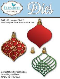 Elizabeth Designs Ornament Set 2