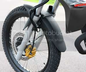 Honda XRE300 freio dianteiro