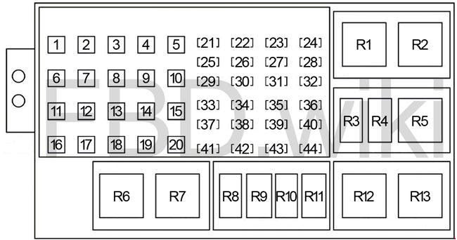05 10 Jeep Grand Cherokee Wk Fuse Box Diagram