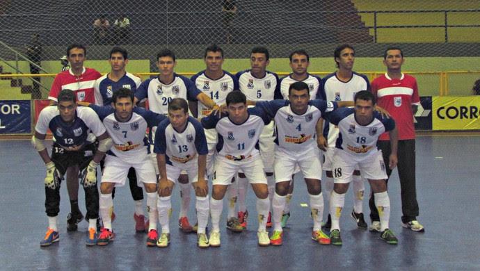 Equipe do Mossoró perfilada (Foto: Divulgação/CBFS)