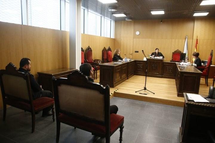 Un juicio en el Penal 1 celebrado en febrero de este año.