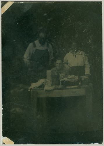 Three at a picnic original