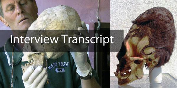 Elongated Skull in Paracas - Interview transcript