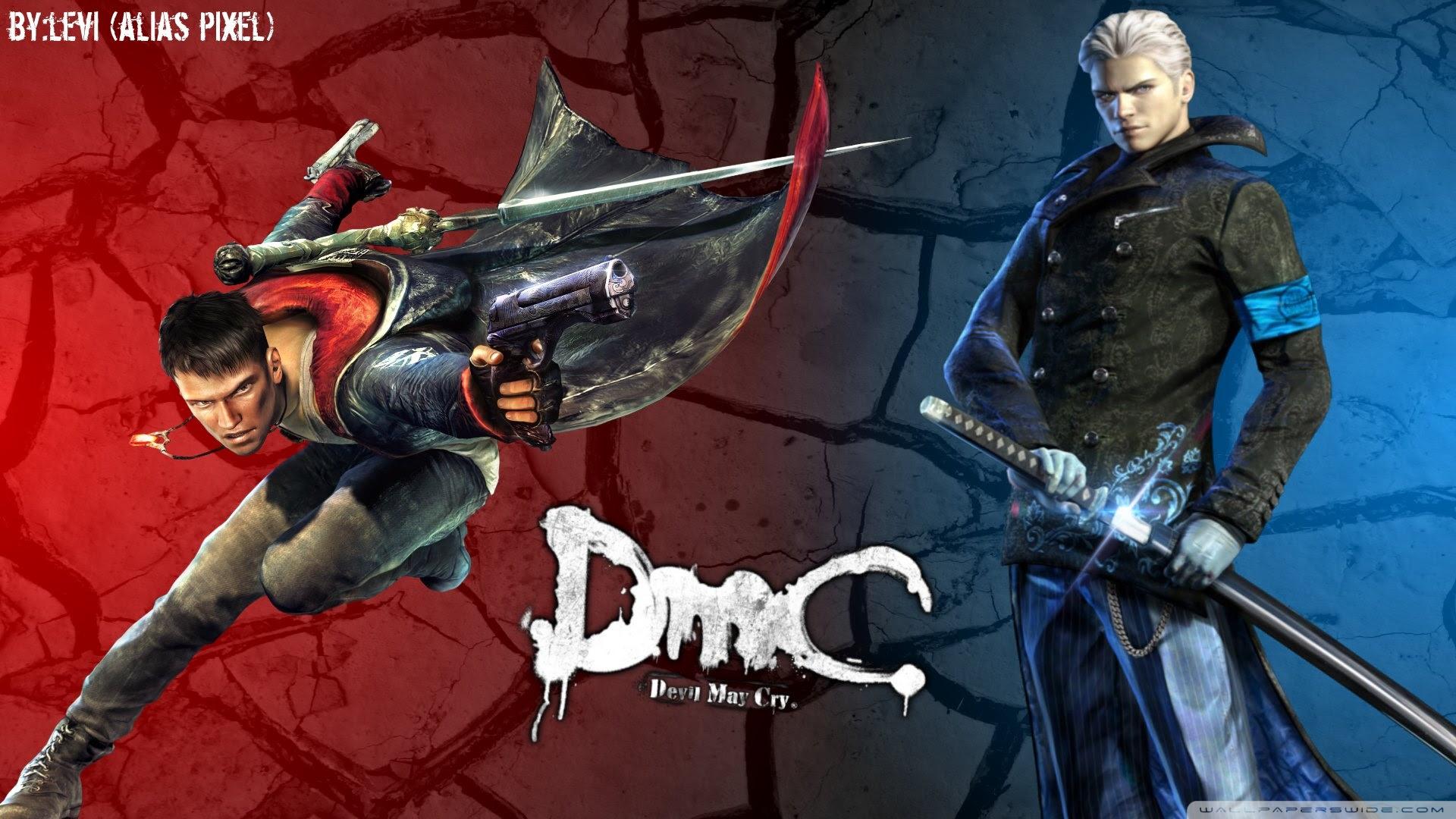Devil May Cry Dante Vergil Ultra Hd Desktop Background Wallpaper