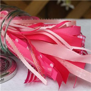 Jam Pot Ribbons - Strawberry